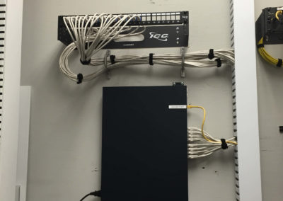 Telco wire management