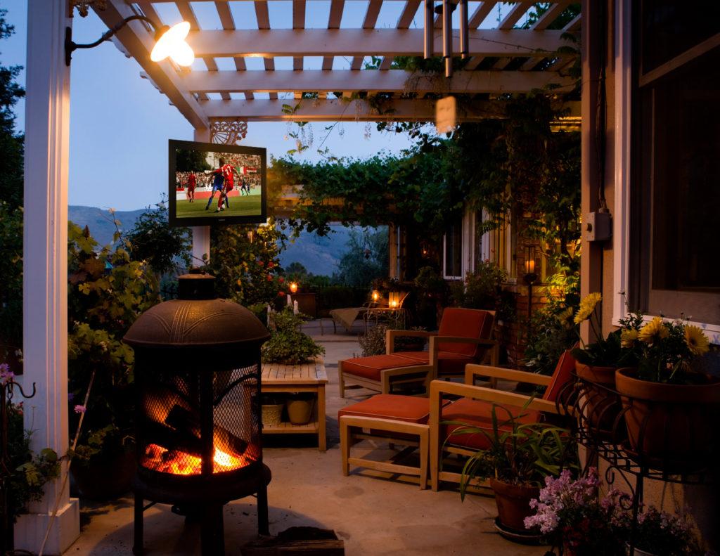 outdoor theater outdoor tv sunbrite